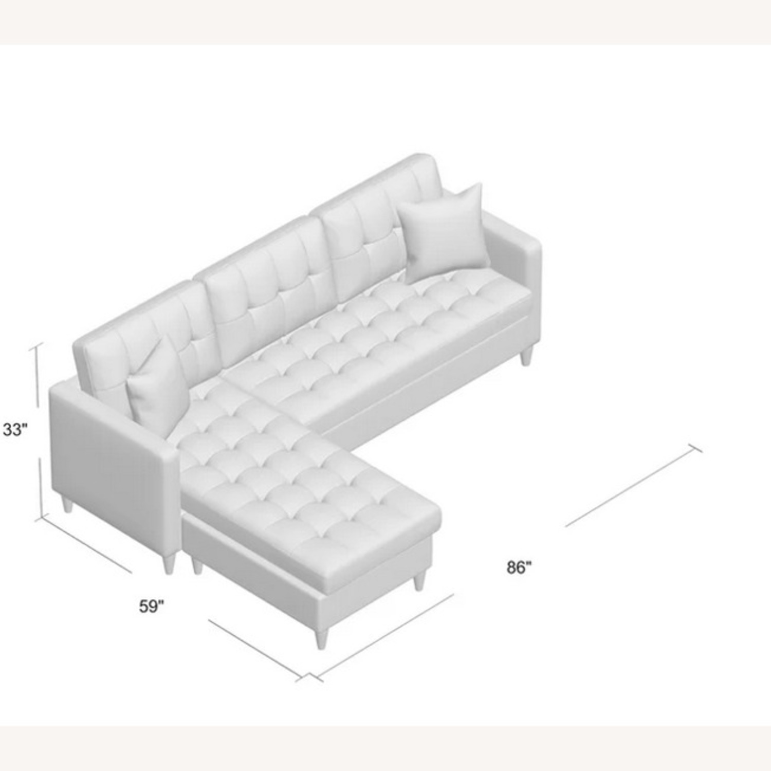 Wayfair Haskell Sofa & Chaise Sectional - image-3
