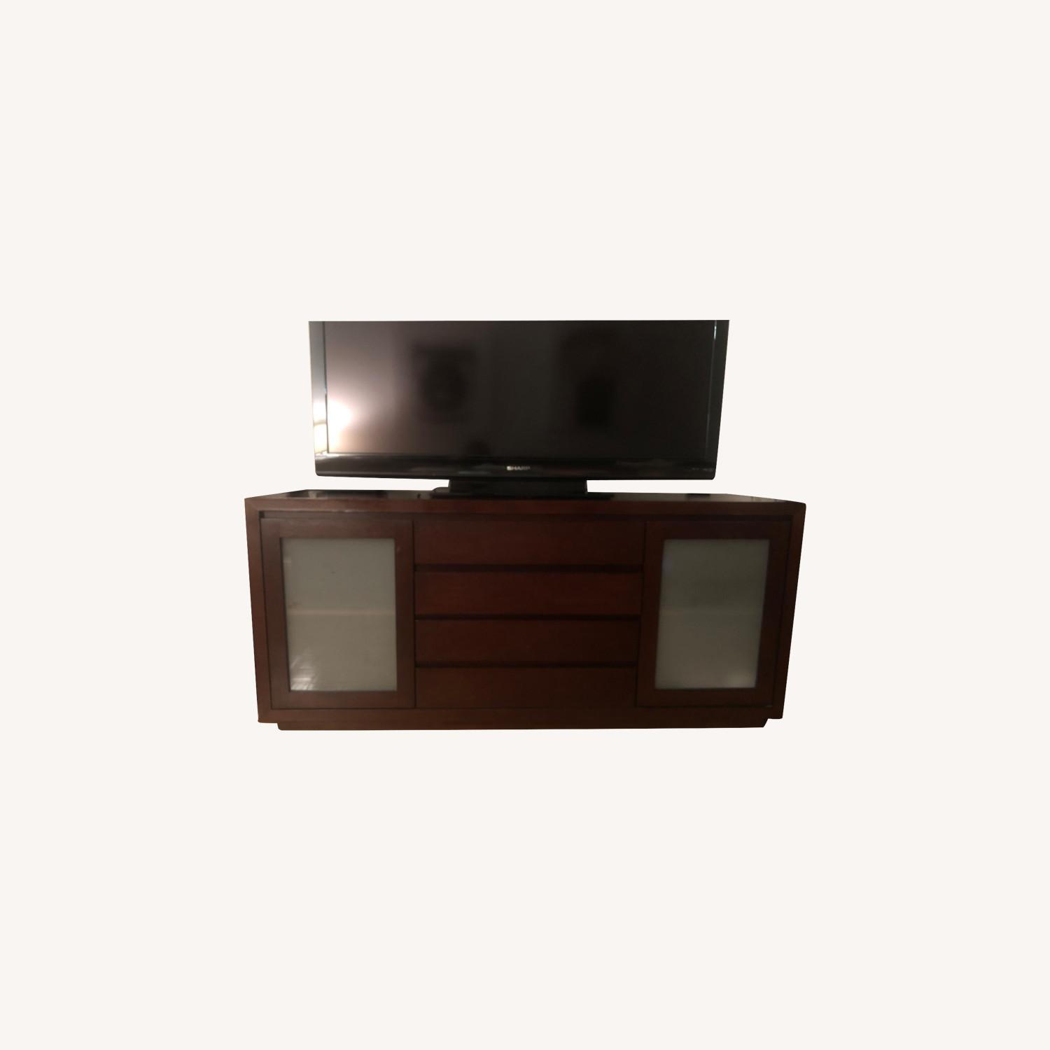 Crate & Barrel Media Console - image-0