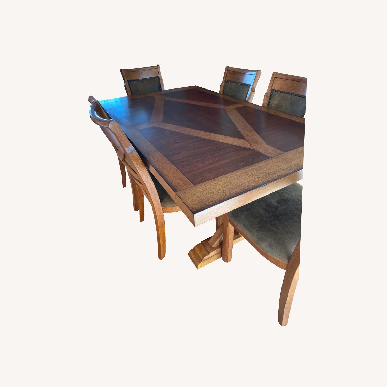 Raymour & Flanigan Soleste Dining Set - image-0