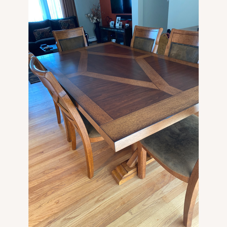 Raymour & Flanigan Soleste Dining Set - image-1