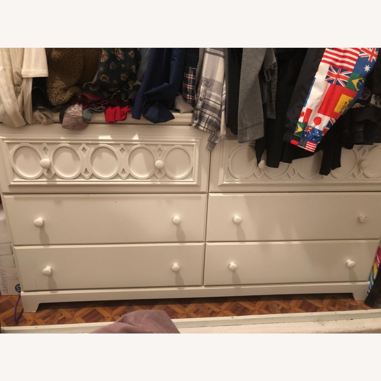 Ashley Furniture White Dresser - image-2