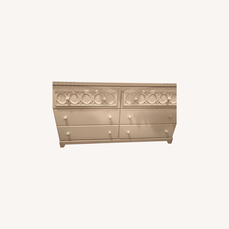 Ashley Furniture White Dresser - image-0