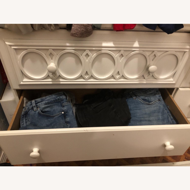Ashley Furniture White Dresser - image-3