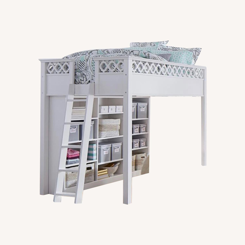 Pottery Barn Elsie Full Size Loft Bed - image-0