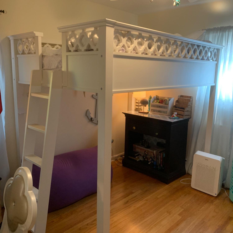 Pottery Barn Elsie Full Size Loft Bed - image-1