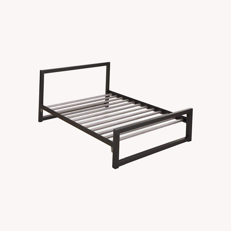 Room & Board Steel Bed Frame - image-4