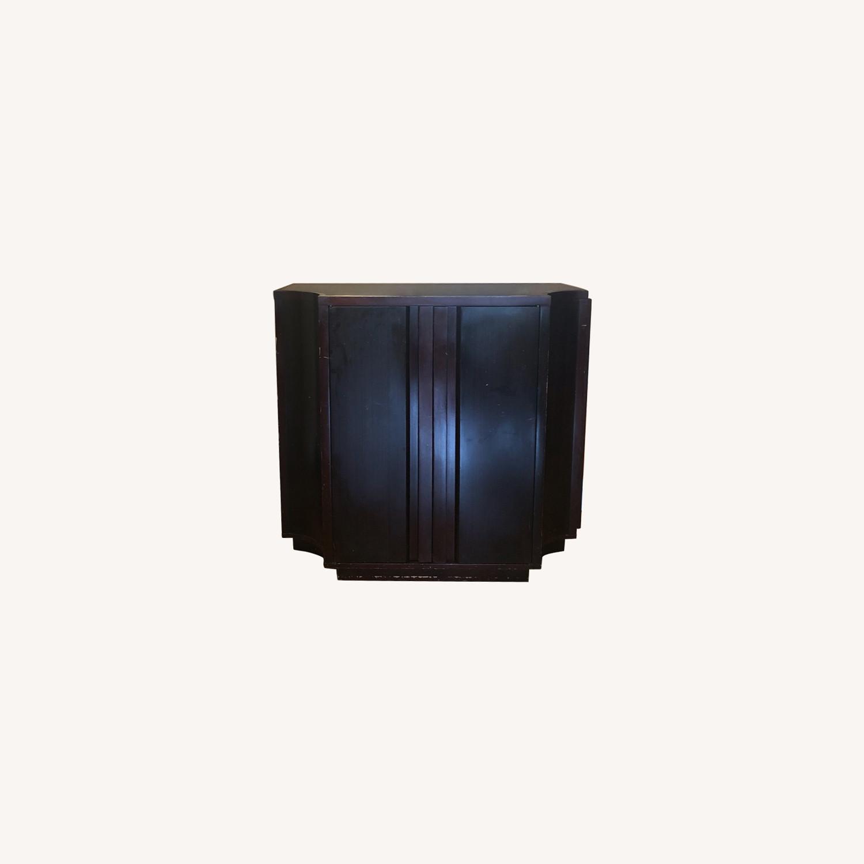 Crate & Barrel Sideboard/Bar Cabinet - image-0
