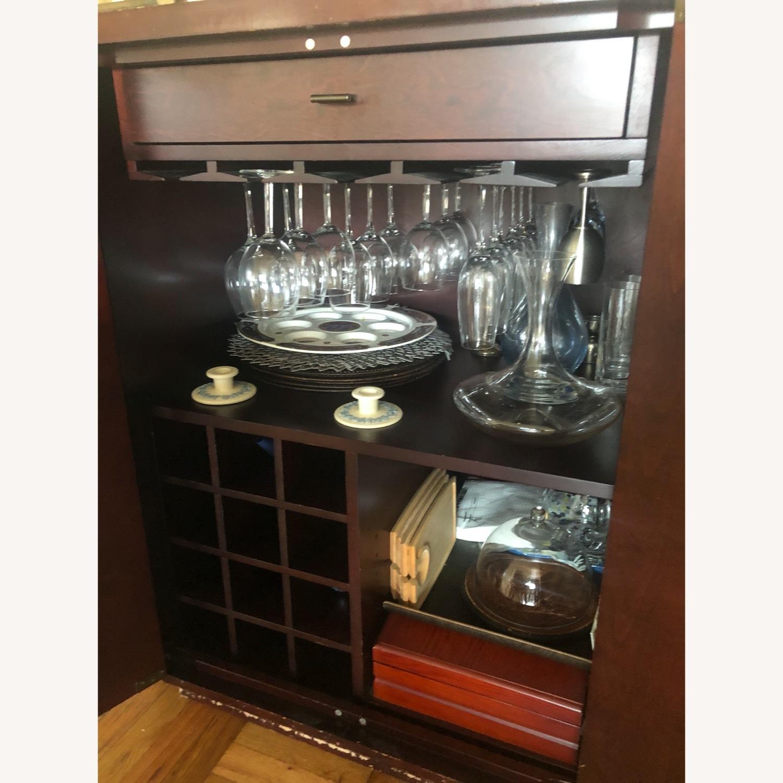 Crate & Barrel Sideboard/Bar Cabinet - image-4