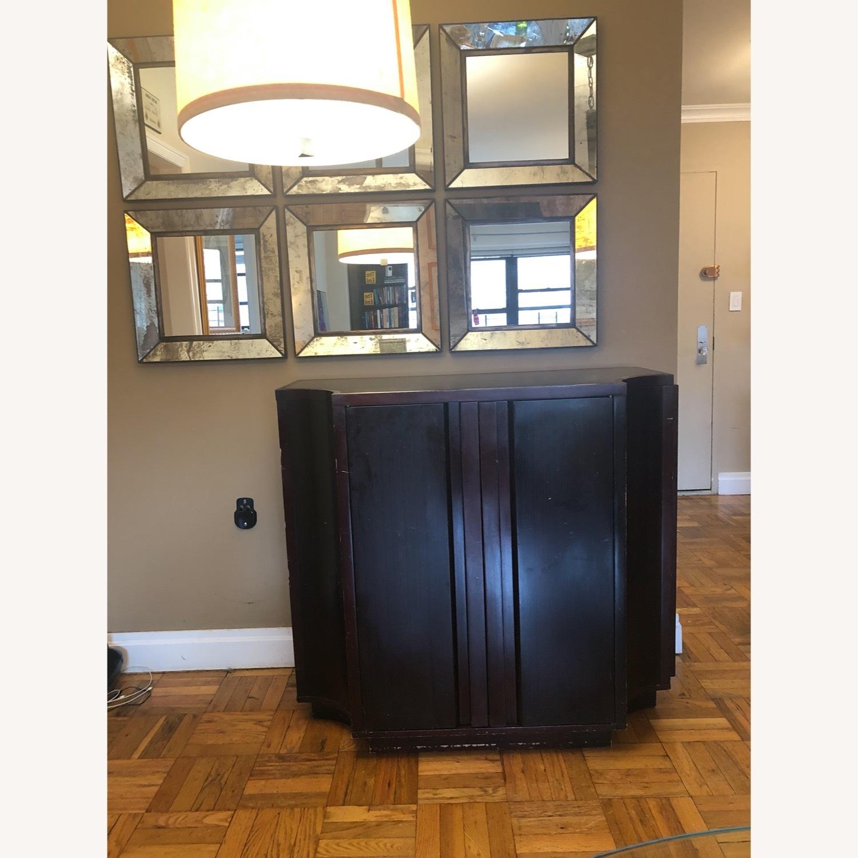 Crate & Barrel Sideboard/Bar Cabinet - image-1