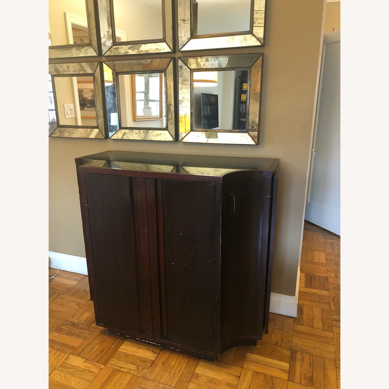 Crate & Barrel Sideboard/Bar Cabinet - image-2