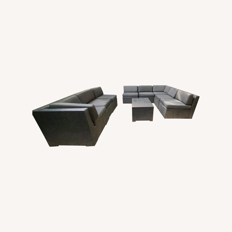 Wicker Patio Set - image-0