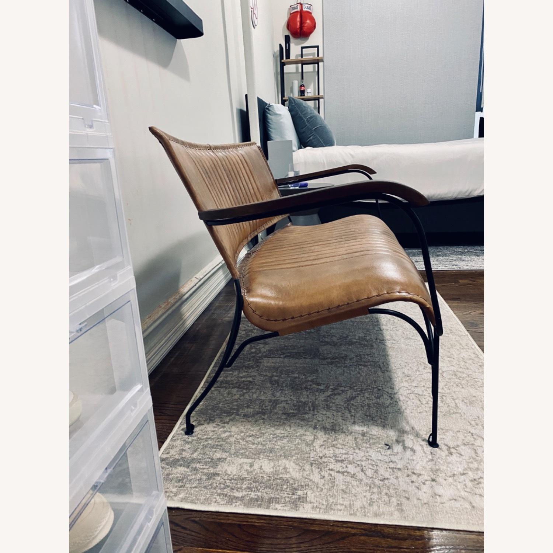 Union Rustic 50 Leather Loveseat - image-3