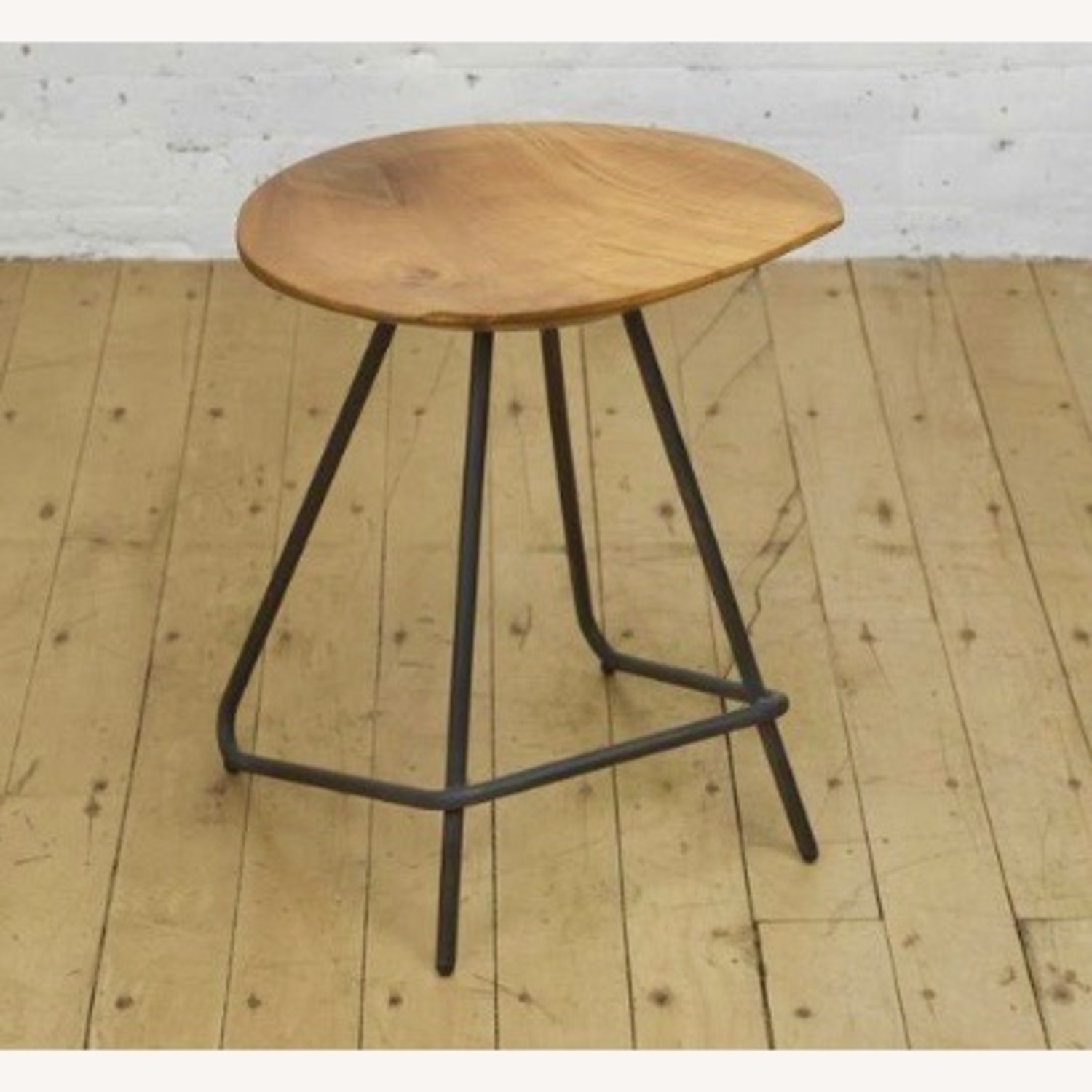 From The Source Solid Teak Stools - image-5
