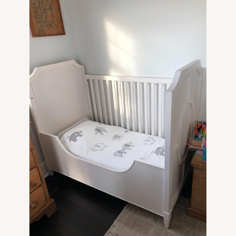 Restoration Hardware Tatum Crib and Toddler Bed - image-5