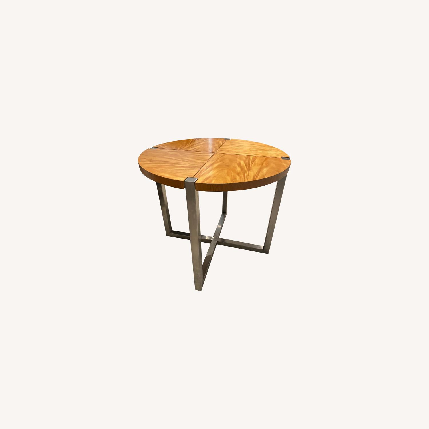 Ralph Lauren Home Wood and Metal Occasional Table - image-0