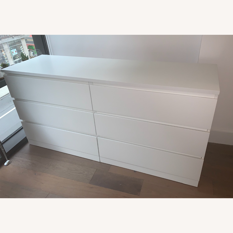 IKEA MALM 6-Drawer Dresser - image-1
