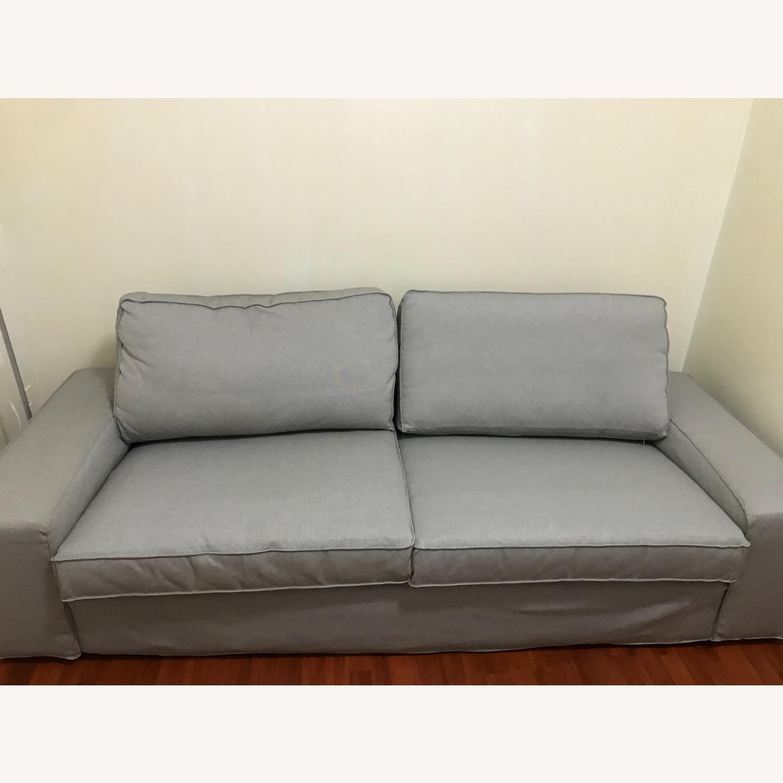 IKEA 2 Seater Kivik Couch - image-1