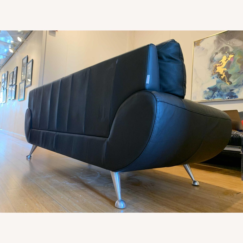 Nicoletti Home Italian Leather Sofa - image-2