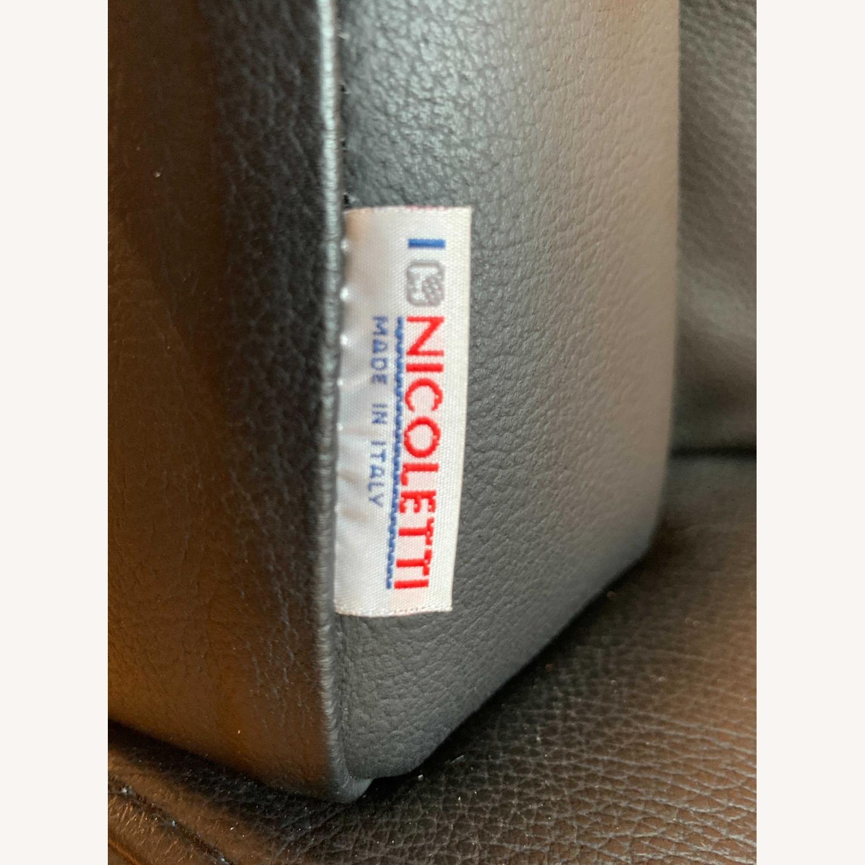 Nicoletti Home Italian Leather Sofa - image-3