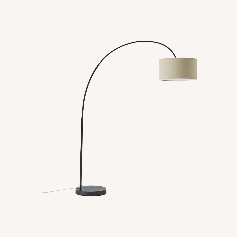 West Elm Overarching Floor Lamp - image-0