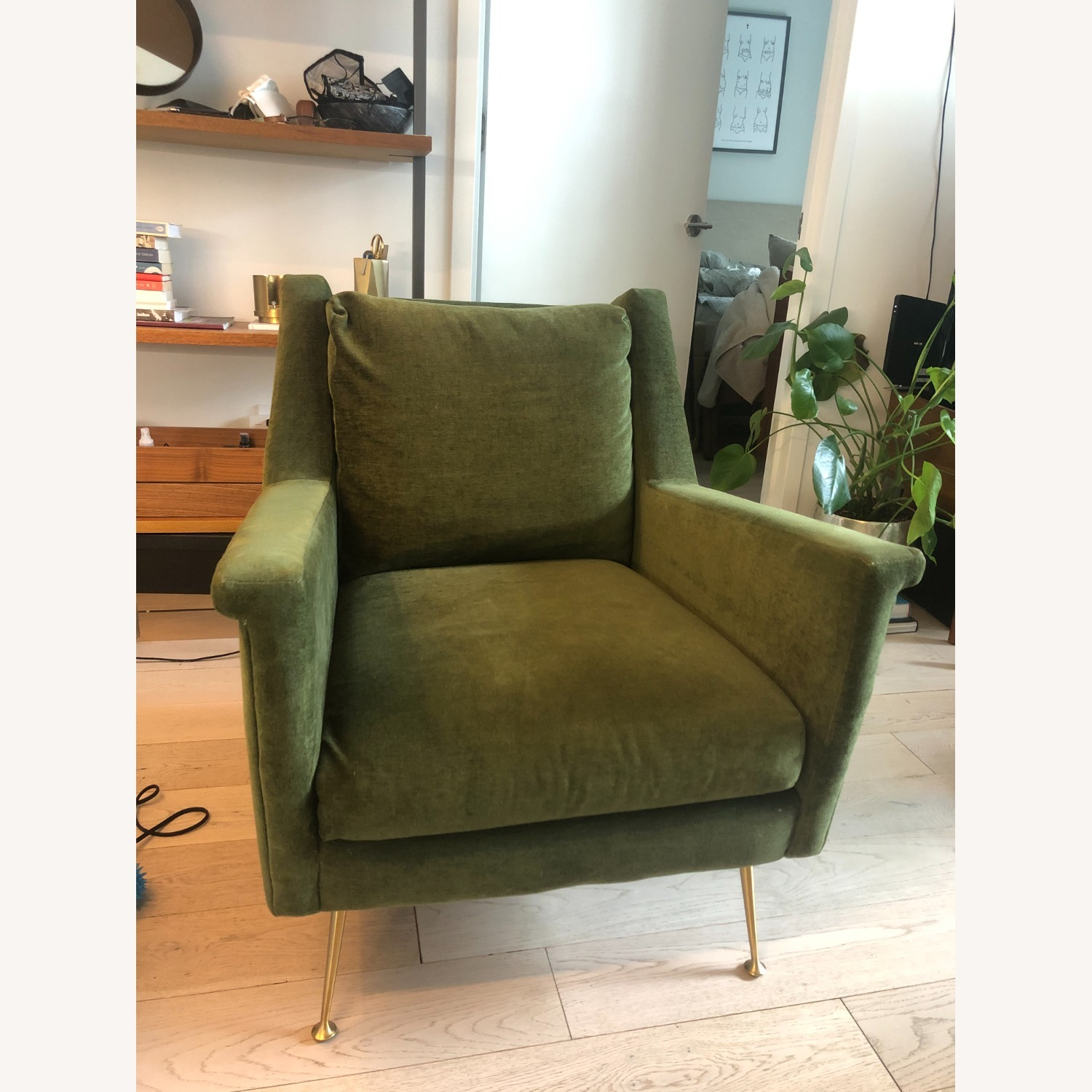 West Elm Carlo Mid-Century Arm Chair - image-5