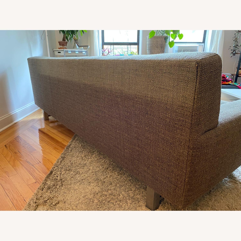 Crate & Barrel Gray Sofa - image-3