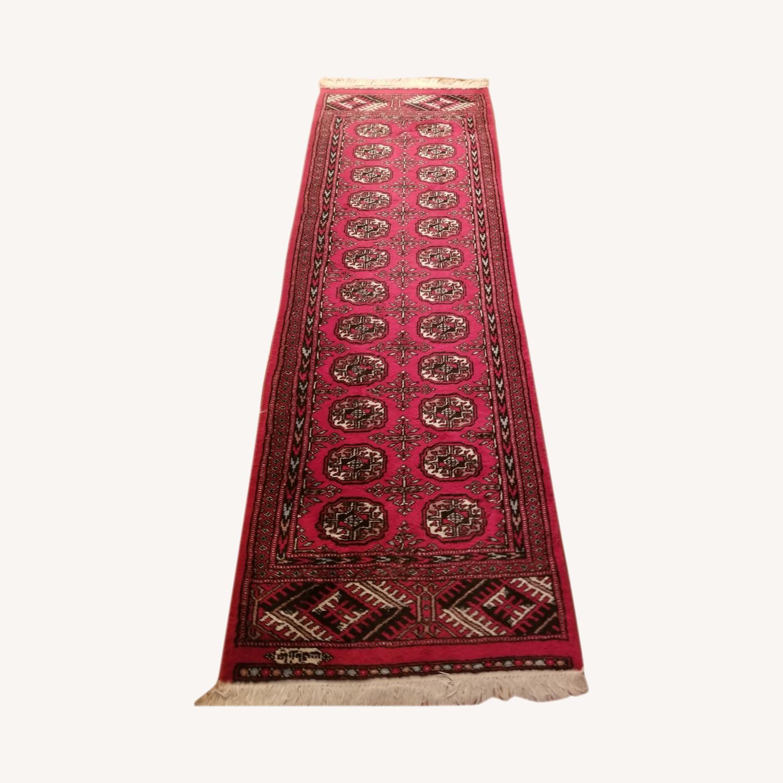 (2) Identical Wool Runner Rugs - image-0