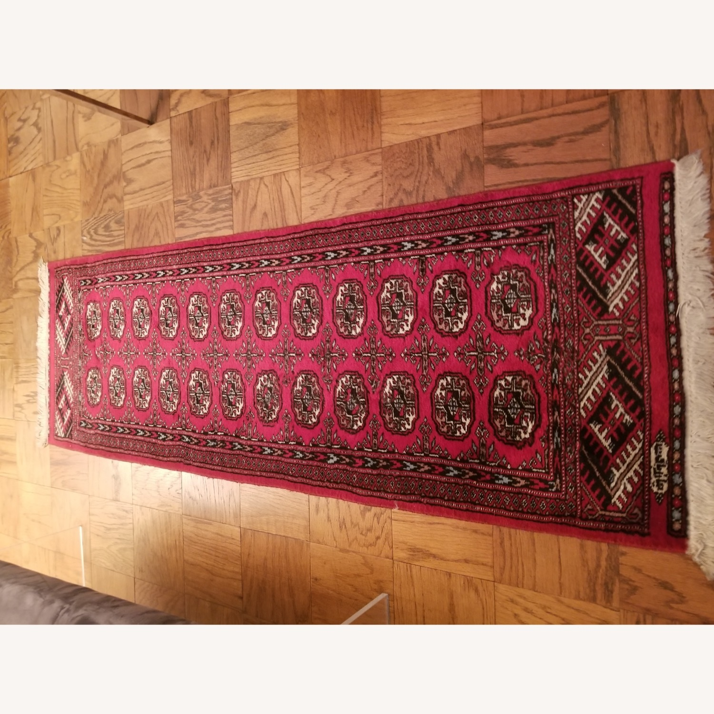 (2) Identical Wool Runner Rugs - image-1