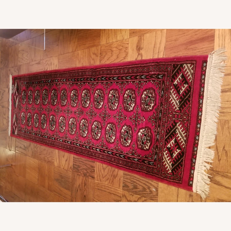 (2) Identical Wool Runner Rugs - image-3