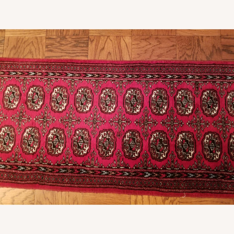 (2) Identical Wool Runner Rugs - image-2