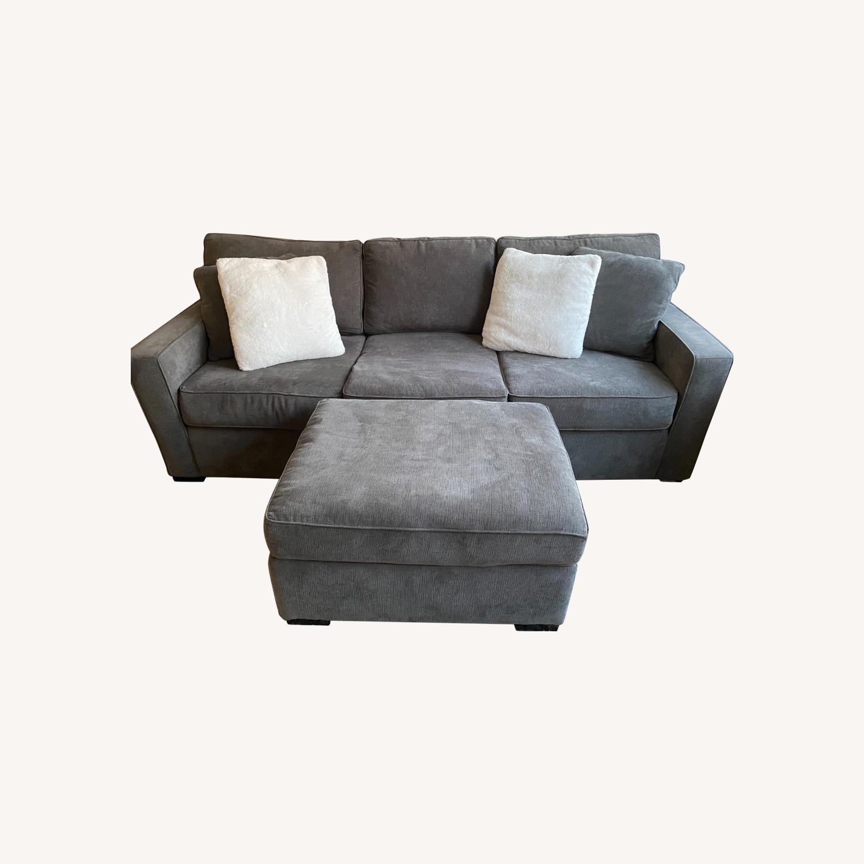 Macy's Radley Fabric Sofa - image-0