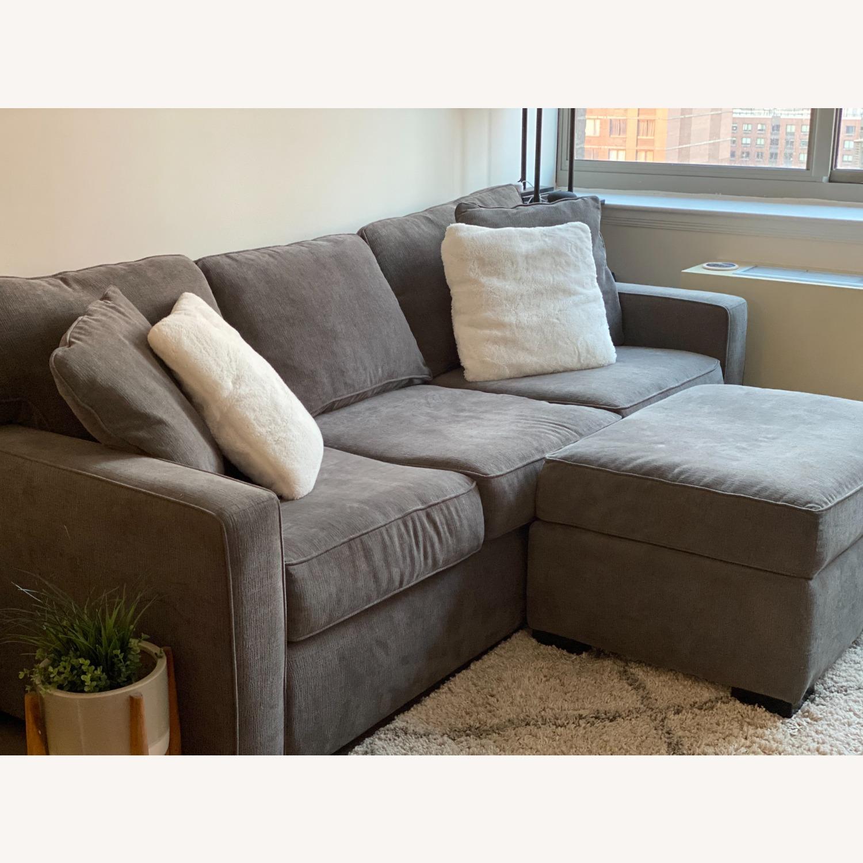 Macy's Radley Fabric Sofa - image-3