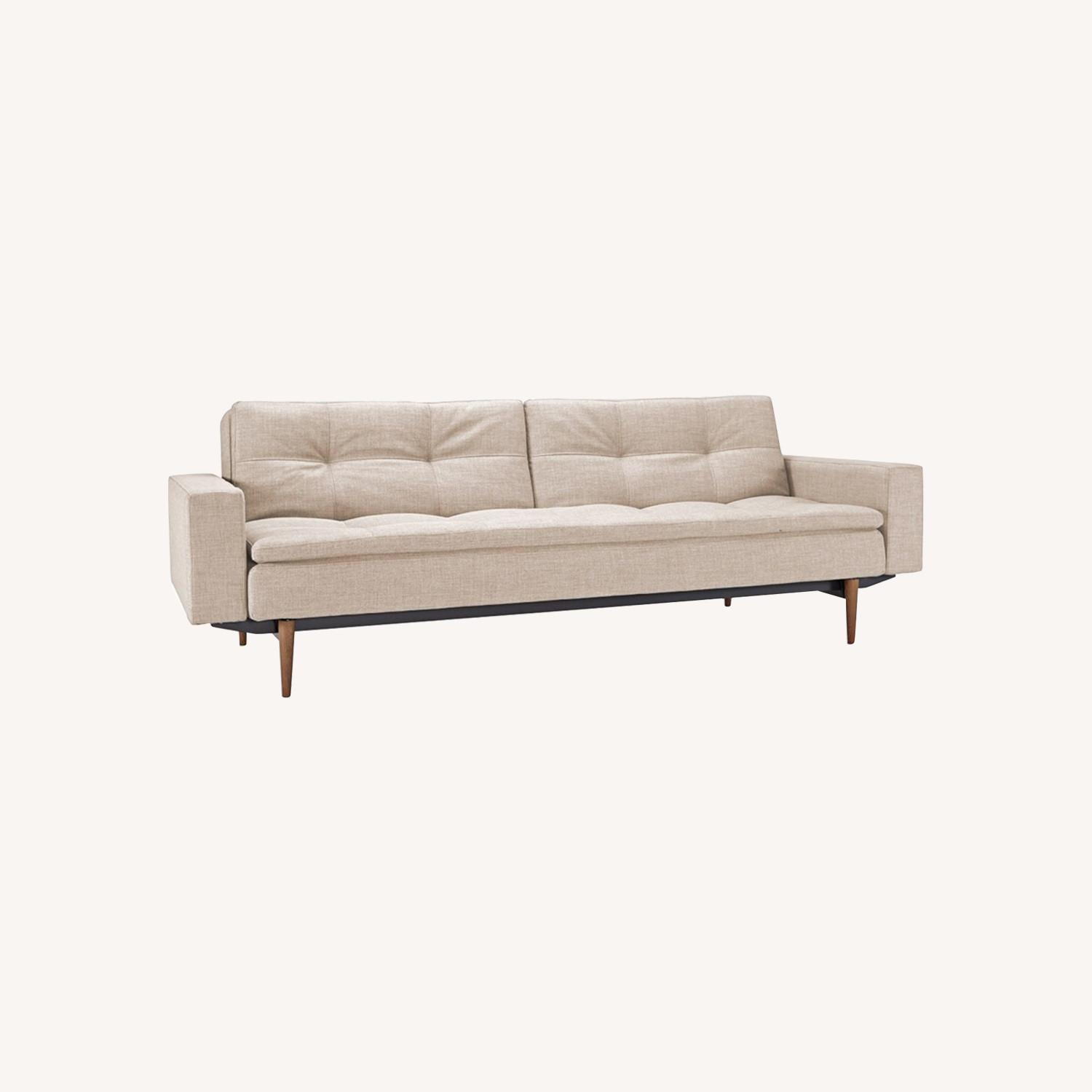Dublexo Styletto Sofa with Arms - image-0