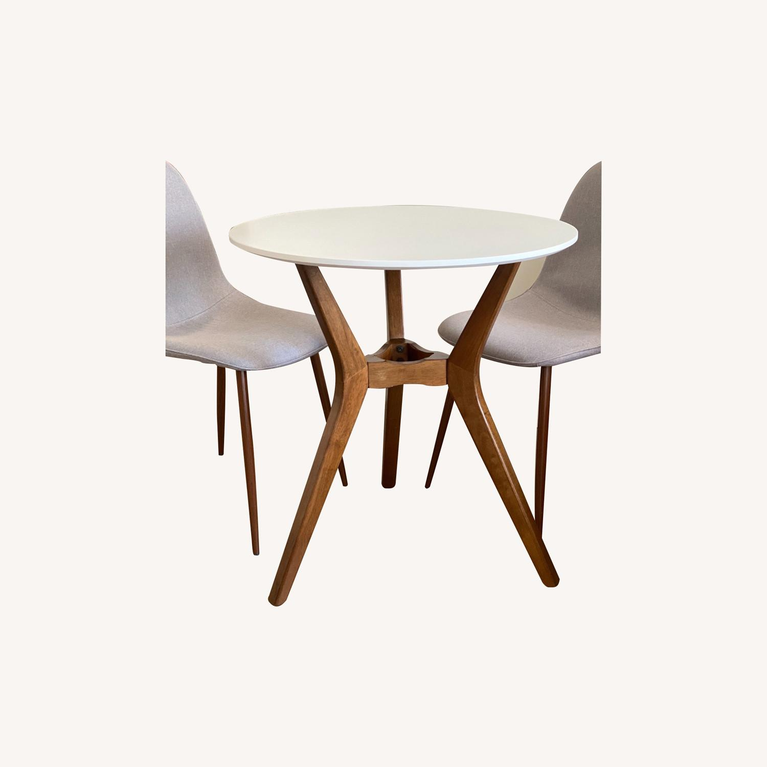 Target Midcentury Bistro Table with 2 Dining Chairs - image-0