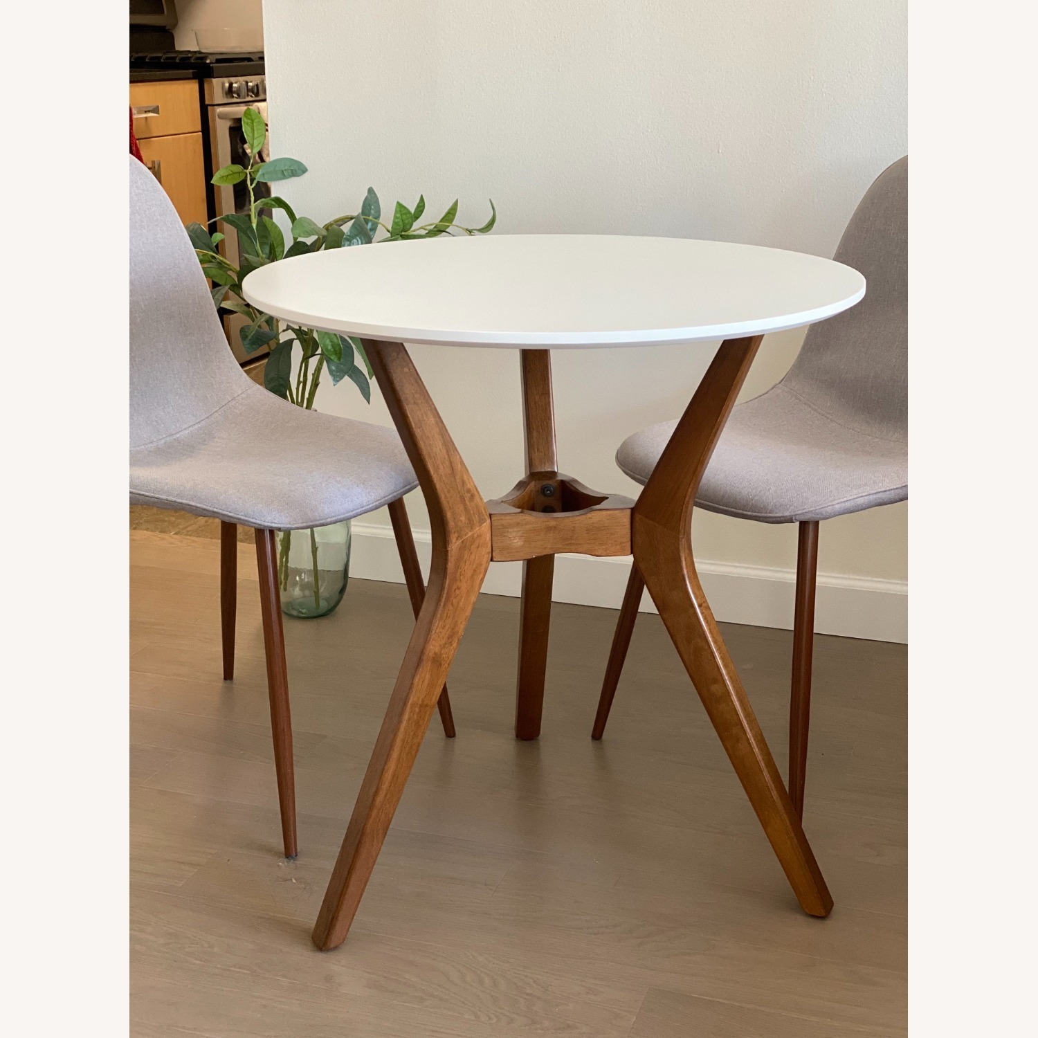 Target Midcentury Bistro Table with 2 Dining Chairs - image-1