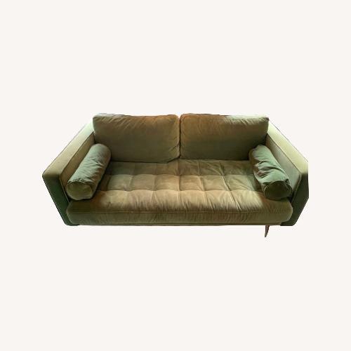 Used Green Velvet Sofa for sale on AptDeco