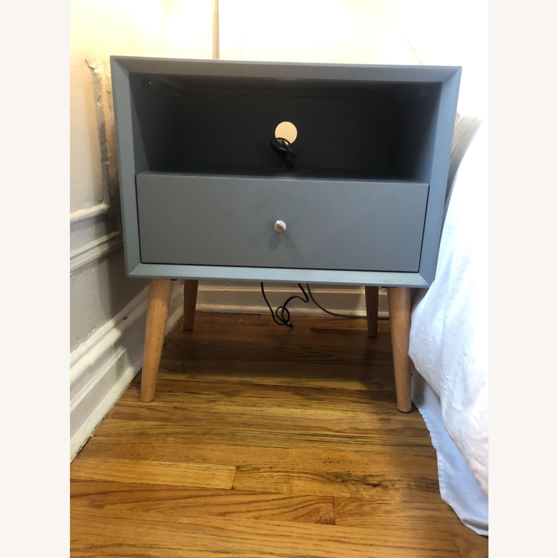 Mercury Row Dark Grey Mid-Century Modern End Table - image-1