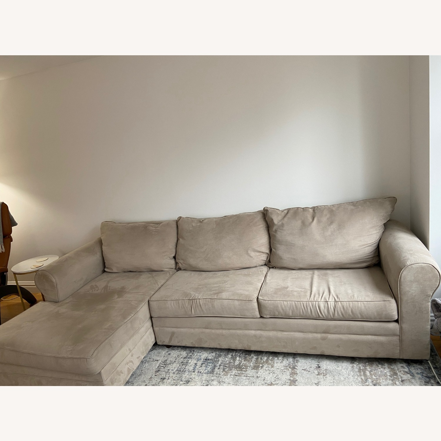 Bob's Discount Furniture Gray Sectional - image-1