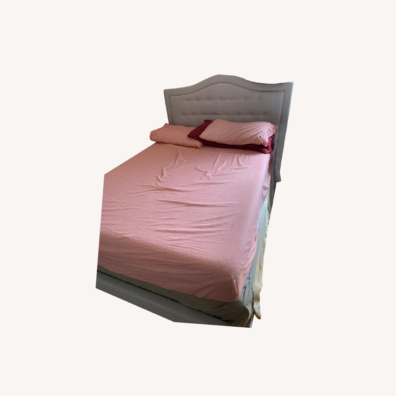 Ashley Emerson Upholstered Full Size Bed - image-0