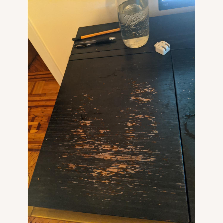 Article Oscuro Desk (Black/Brass) - image-4