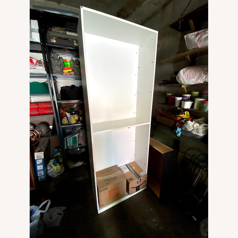 CB2 High White Wall Storage Cabinet - image-4