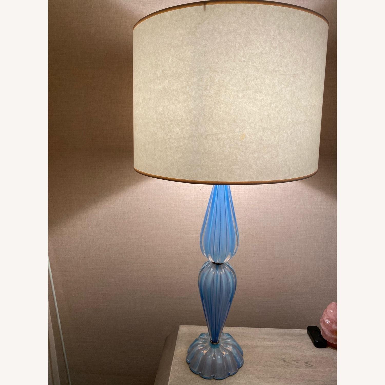 Italian Glass Lamps - image-1