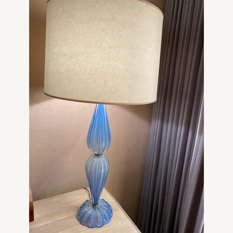 Italian Glass Lamps - image-5