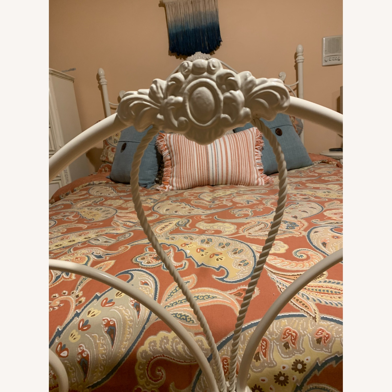 Metal Head and Footboard for Queen Bed - image-2