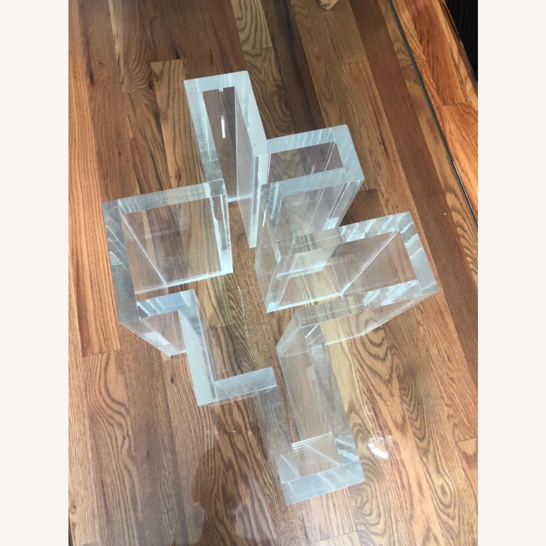 1970 Glass Coffee Table - image-3