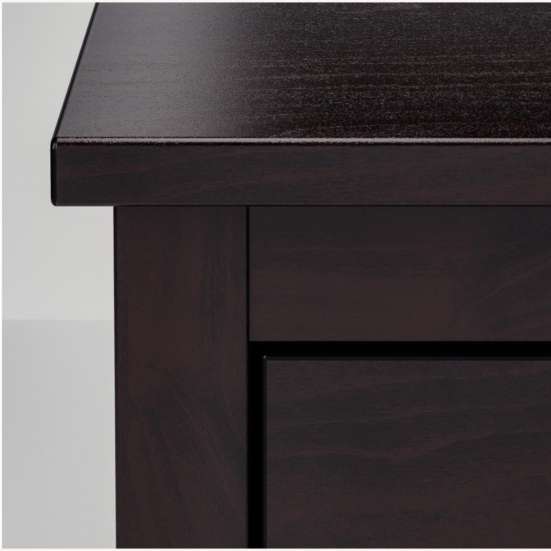 IKEA Koppang 6 Drawer Dresser Black Brown - image-3