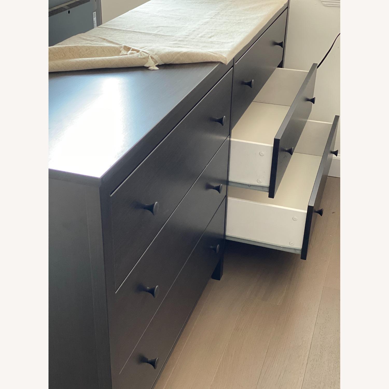 IKEA Koppang 6 Drawer Dresser Black Brown - image-4