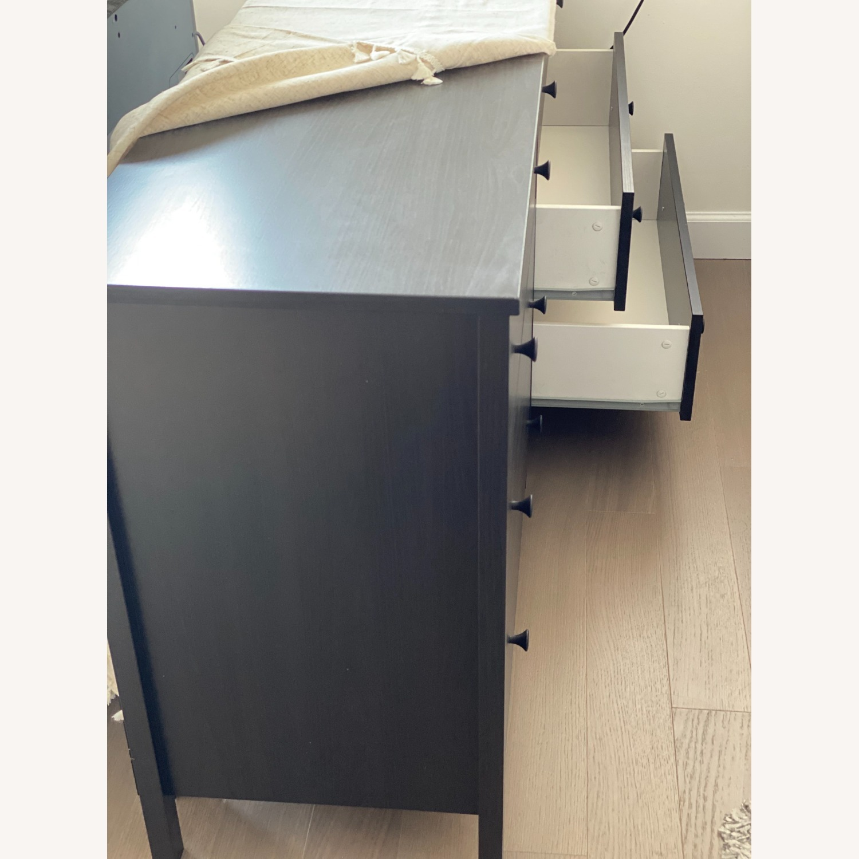 IKEA Koppang 6 Drawer Dresser Black Brown - image-5