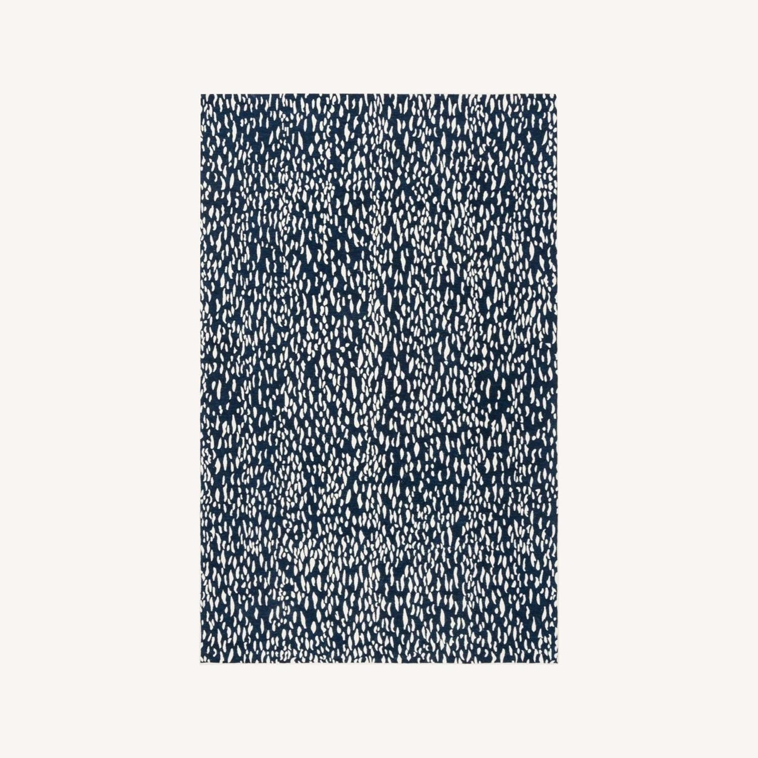 Safavieh Navy Blue and Ivory Area Rug - image-0