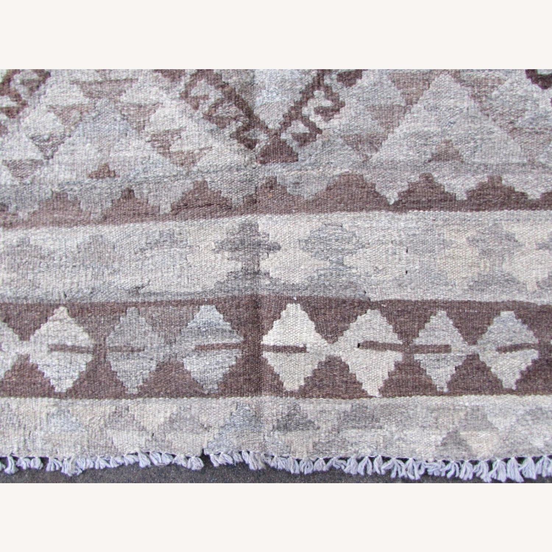 Handmade vintage Afghan kilim - image-4